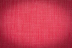 Red leather texture close up to be used as background. Stock Photography