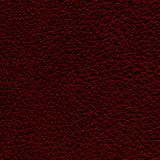Leather texture. Red Leather texture closeup background Stock Image