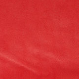 Red leather texture closeup Stock Photo