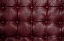 Red leather texture Royalty Free Stock Photography