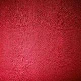 Red Leather Texture Made From Deer Skin Royalty Free Stock Photos
