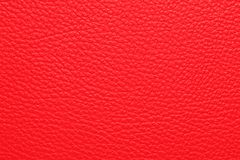 Red leather texture. Or background Stock Image
