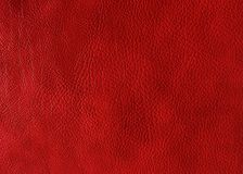 Red leather texture. May used as background stock photo