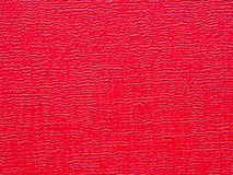Red leather. Texture of red leather use for background Royalty Free Stock Image