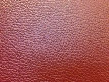 Red leather textured for background Royalty Free Stock Photo