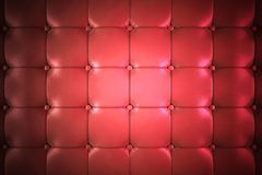 Red Leather Upholstery Stock Images