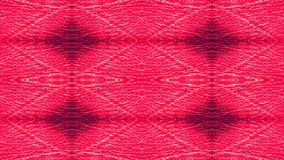 Red leather upholstery. Graphic pattern. Stock Photos