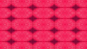 Red leather upholstery. Graphic pattern. Stock Photo