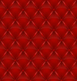 Red leather upholstery seamless background Stock Image