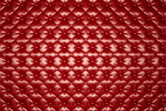 Red Leather Upholstery Texture /Abstract Background vector illustration