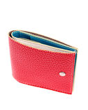 Red leather wallet Royalty Free Stock Photo