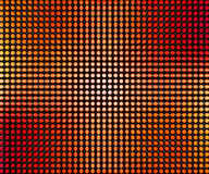 Red LED Dots Abstract Background. Image Royalty Free Stock Photography