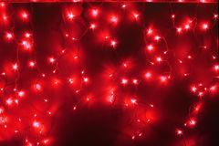Red led light Stock Images