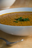 Red lentil soup Royalty Free Stock Images
