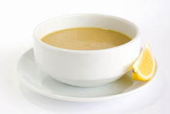 Red lentil soup Stock Photography