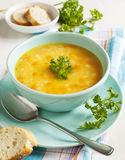 Red lentil soup Stock Images