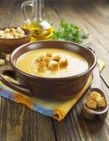 Red lentil soup Stock Images