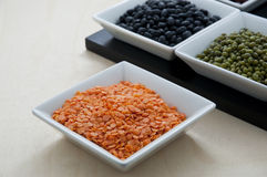 Red lentils 1 Royalty Free Stock Image