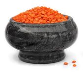 Red lentils Royalty Free Stock Photos
