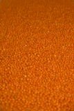 Red lentils. Background (low depth of filed Stock Images