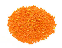 Red Lentils Royalty Free Stock Photo