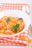 Red lentils Royalty Free Stock Images