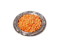 Red lentils Stock Photo