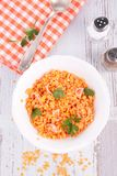 Red lentils Stock Photos