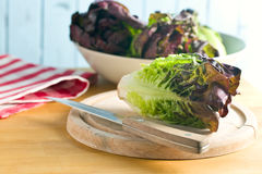 Red lettuce Stock Photography