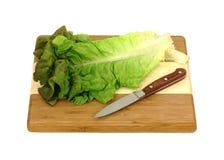 Red Lettuce Knife Stock Images