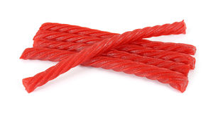 Red licorice Stock Photography