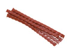 Red Licorice Royalty Free Stock Images