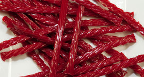 Red Licorice Royalty Free Stock Photography