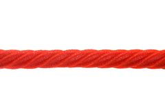 Red Licorice Rope Royalty Free Stock Photography