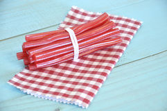 Red licorice Stock Photo
