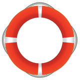 Red Life Buoy Stock Photos