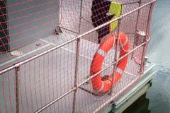 Red life buoy Royalty Free Stock Photo