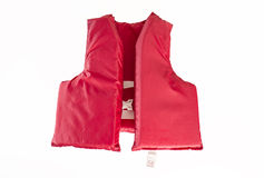 Red Life Jacket, Vest Royalty Free Stock Image