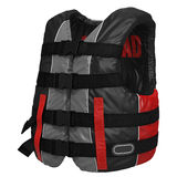Red Life Vest on white. 3D illustration Royalty Free Stock Photos
