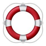 Red lifebuoy Stock Photos