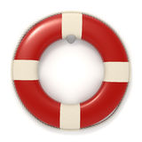 Red lifebuoy icon - Isolated Royalty Free Stock Photography