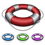 Red lifebuoy Stock Photos