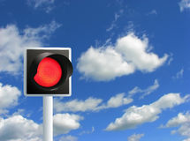 Red light. Royalty Free Stock Photography