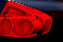 Red light. Tail-light royalty free stock images