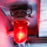 Red light. Stock Photos
