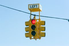 Red light. Traffic signal Stock Image