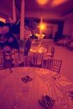 Red light ballroom Royalty Free Stock Photography