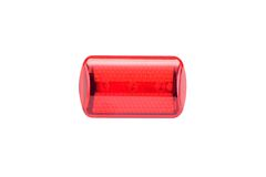 Red light bike reflector Royalty Free Stock Photography