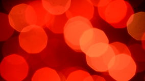 Red light bokeh stock footage