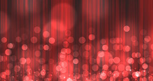 Red Light Burst over curtain Stock Images